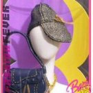 Collectible Barbie Fashion Fever Caps Hats Ball Cap Bag Beautiful Necklace 2004