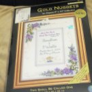 Dimensions Gold Nuggets Two Shall Be Called One Cross Stitch Kit NIP by K Avery