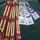 Lot Boye Single Point Knitting Needles 11 to 17 Circular 8 9 13 Metal 29 inches