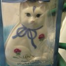 Lenox Poppies on Blue Barnyard Collection Cat Cookie Press Mold NIP Series Cute
