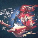 Jimi Hendrix Black T -Shirt Hard Rock Acid Psychedelic Woodstock