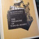 The Treasure of Topo-el-Bambo by Scott O'Dell 1972 Weekly Reader Book Club