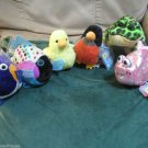 Webkinz Lil' Kinz Robin Canary Bullfrog Pink  Fish Polka Dot or Gold Fish Choose