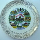 Lot Vintage Collectible Georgia Plate 1970s State Capital Others States