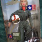 Beautiful Blonde Barbie Aviator  AAFES Doll 2001 Serving Our Country In The Air