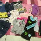 Lot Baby Girl Clothes 24 Mos 2 T Young Hearts Hello Kitty Sophie Rose Old Navy