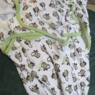Two Little Monkey Baby Swaddle Me Swaddling Blankets Wraps Sm to Med Unisex