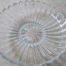 Vintage Heisey Glass Crystolite Elegant Crystal Signed Floral Bowl