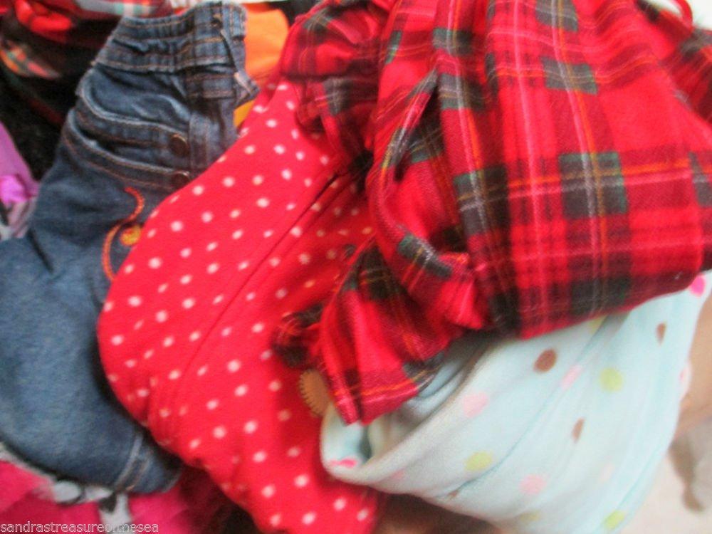 Girl 3T Clothing 40 Pc Lot Tops Jeans PJ Gymboree Jumping Bean Baby Phat Nick Jr
