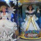 Disney Barbie Cinderella and Snow White Holiday Princess Special Edition NIB