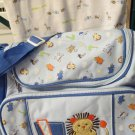 Handy Boys Baby Connection L Is For Lion Large Diaper Bag and Blanket Nice Gift
