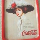 1909 Hamilton King Gibson Girl Lithograph Coke Coca Cola Tin Tray 1971 Plus Tins