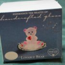 Glass Baron Collection Lovable Bear Swarovski Crystal Be MY Love Cute Gift
