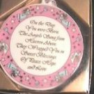 The Day You Were Born by Roman Cradle Medal Baby Gift Girls or Boys Available