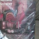 Vintage 1983 Soft Sculpture Bantam Rooster Kit by Yours Truly Kit 2905 NIP