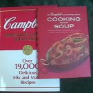 Vintage Cambell Cookbook Cooking With Soup 1970 And Creative Cooking w Soup 1985