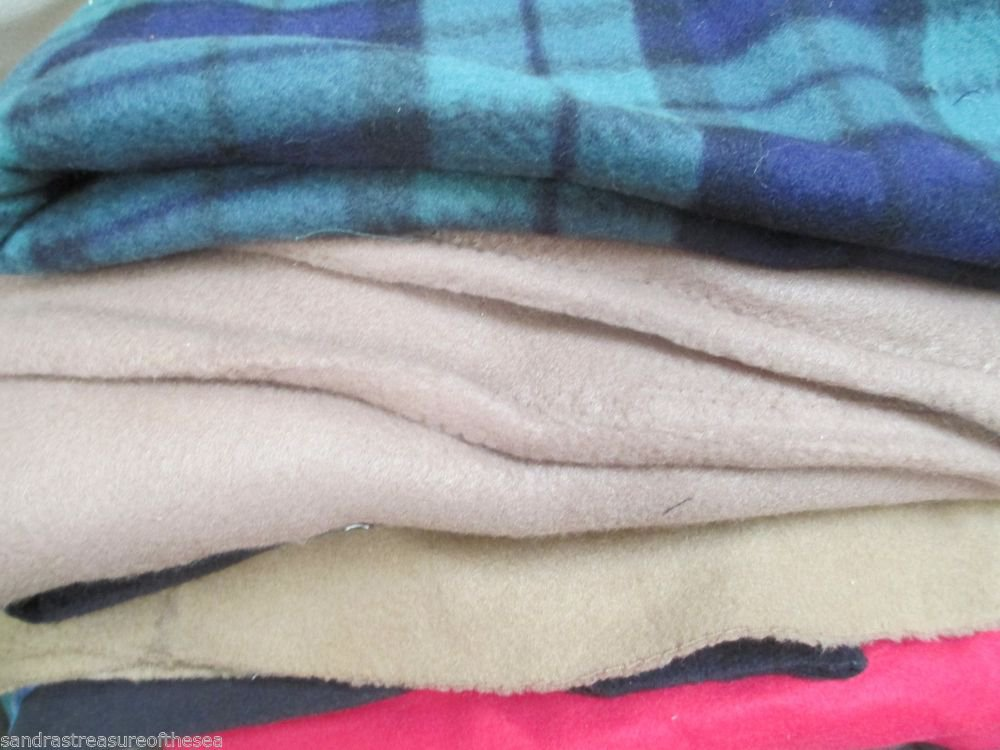 Multi Color Fleece Gift Idea Make Quilt Blanket JoAnn Fabric 6 Yards or More