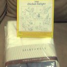 Vintage Chicken Delight Aunt Marthas Towel Set Transfer and Kitchen Towels 80s