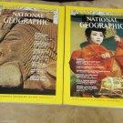 Two National Geographic Magazine 1970 Nov Mar Computer Revolution Kansai Japan