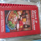 Favorite Recipes Home Economics Teachers Quick Easy Cookkbook 1968