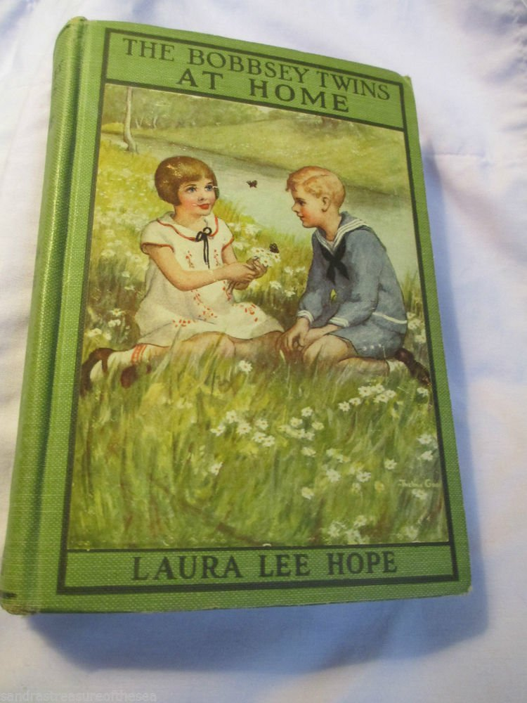 The Bobbsey Twins At Home Hardcover Book Laura Lee Hope Grosset & Dunlap 1916