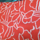 Vintage Print Fabric Frank Gilbert Toucan Print Orange w white Toucan 3 Yds X 58