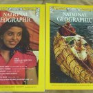 Two National Geographic Magazine 1973 Oct Dec Chile Lost Inca Empire Greenland