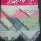 1953 Star Edging Book Handkerchief Edgings No 122 Crocheted Tatted Hairpin Lace