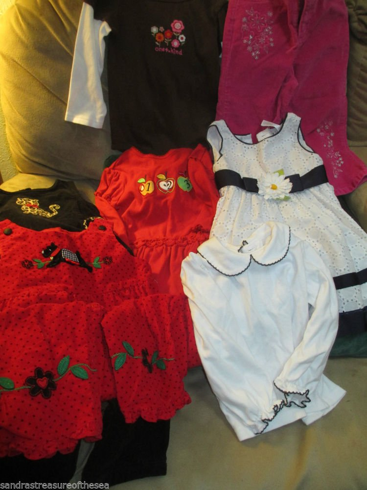 Girls 24 months Clothing Ten Pieces Dress Outfit Top Starting Out Gymboree