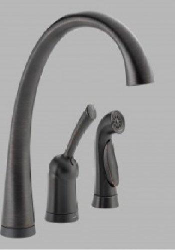 Delta Kitchen Touch faucet (Venetian Bronze) 4380T-RB-DST