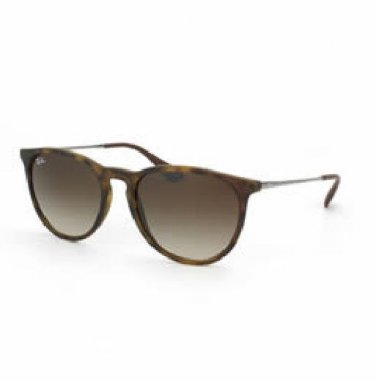Ray-Ban Sunglasses RB 4171 865/13 Erika Brown Lens /Havana Frame 100% Original