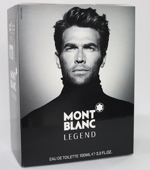 Mont Blanc Legend for Men Eau de Toilette 100ml 3.4oz New In Box 100% Original