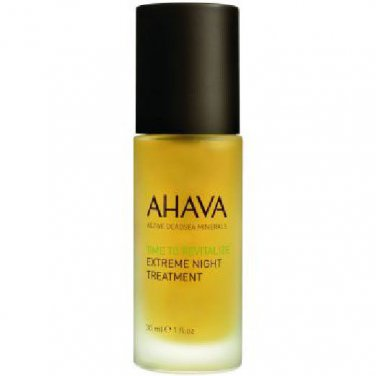 AHAVA Time To Revitalize Extreme Night Treatment 1oz(30ml)New Sealed Moisturizer