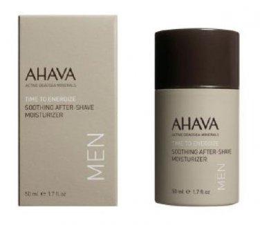 AHAVA Time To Energize After-Shave Moisturizer 1.7oz 50ml Men New Sealed Face