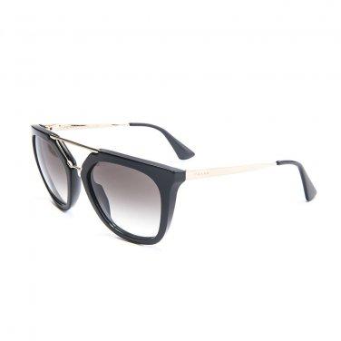 Prada Sunglasses 09QS 1AB0A7 Cat Eye Cinema Black Grey Gradient New Original
