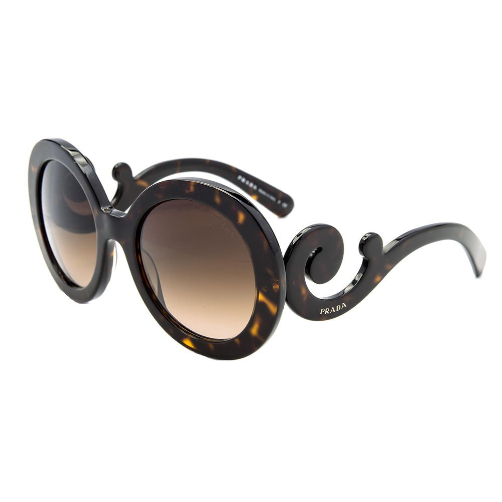 Prada Sunglasses PR 27NS 2AU6S1 Havana Brown Gradient New 100 % New & Original