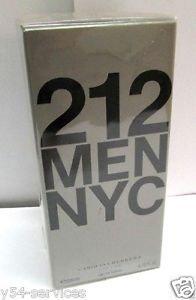 Carolina Herrera 212 Men 200ml 6.7oz Eau de Toilette EDT New Box 100% Original