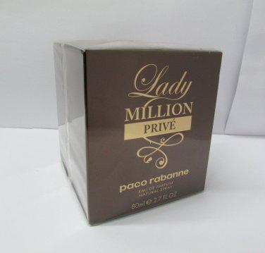 Paco Rabanne Lady Million PRIVE 80ml 2.7 oz Eau de Parfum EDP NEW 100% Original