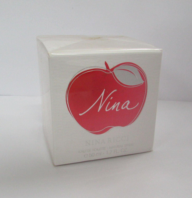 Nina Ricci NINA 1.7oz 50ml Women EDT Eau de Toilette NEW IN BOX 100% Original