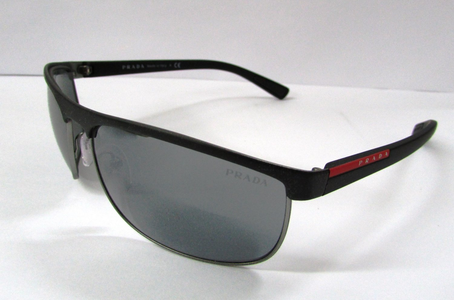 Prada Sport Sunglasses 54QS DG07W1 Black Gunmetal 100% New & Original