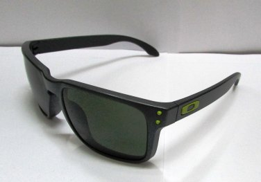 Oakley Sunglasses 9102-38 Holbrook Steel/ Dark Grey 55mm 100% Original & Case