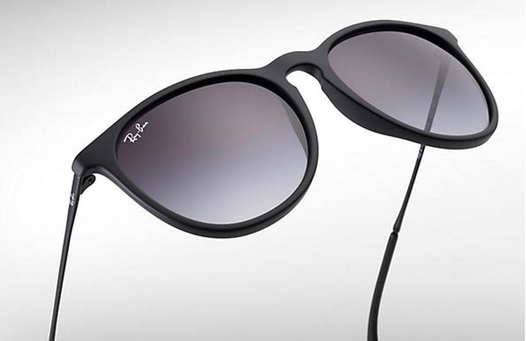Ray Ban Sunglasses 4171 Erika 622/8G  54 Matte black Gradient New 100 %Original