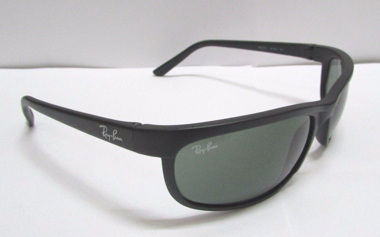 Ray-Ban Sunglasses 2027 W1847 Predator II Black Green Classic NEW & 100% Original