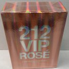Carolina Herrera 212 VIP Rose Exclusive Set 80ml Edp + 100ml Body Lotion NEW SET