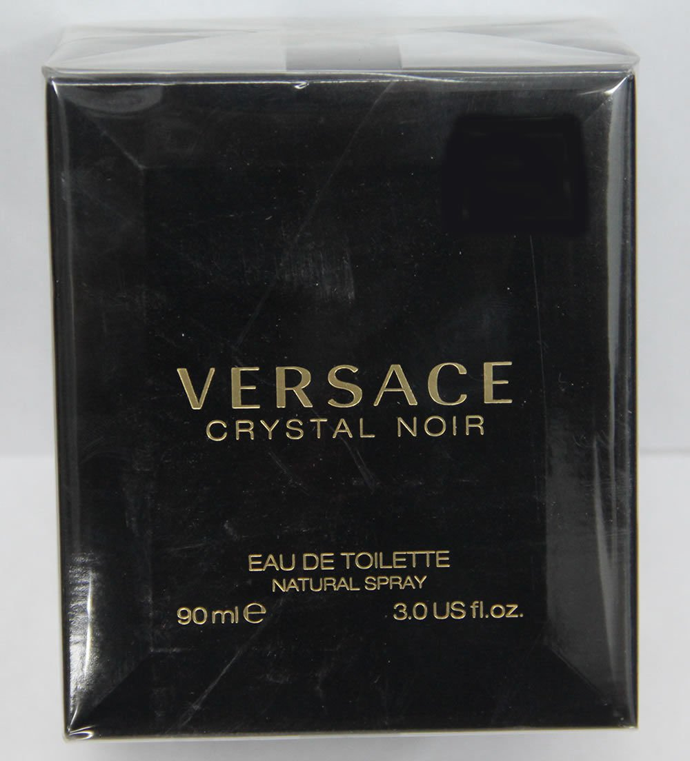 Versace Crystal Noir EDT 90ml 3.0oz For Women New In Box & 100% Original
