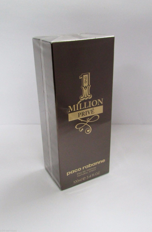 Paco Rabanne 1 Million PRIVE Men Eau de Parfum EDP 100 ml 3.4 oz NEW & Original
