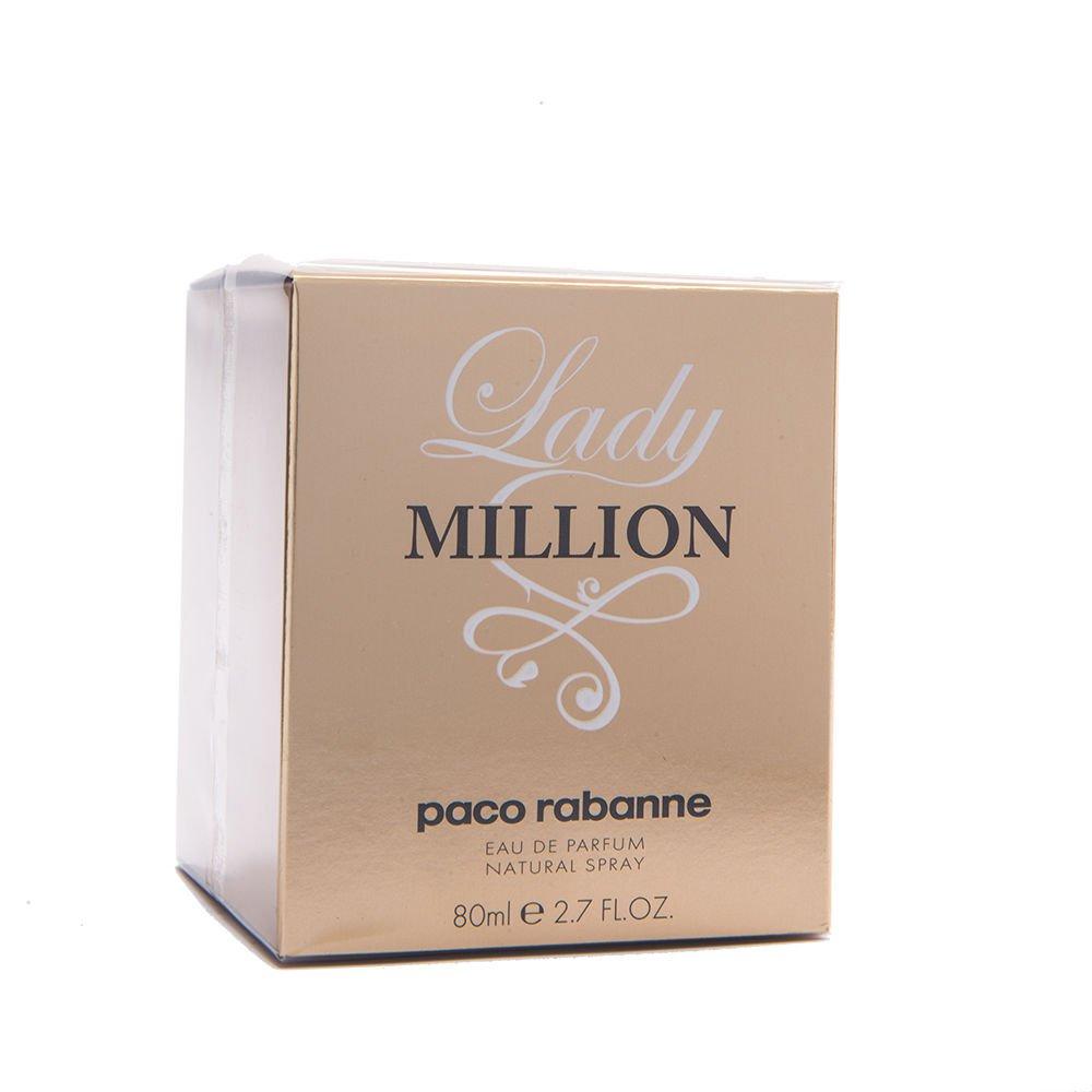 Paco Rabanne Lady Million 80ml 2.7 oz Eau de Parfum EDP NEW Box & 100% Original