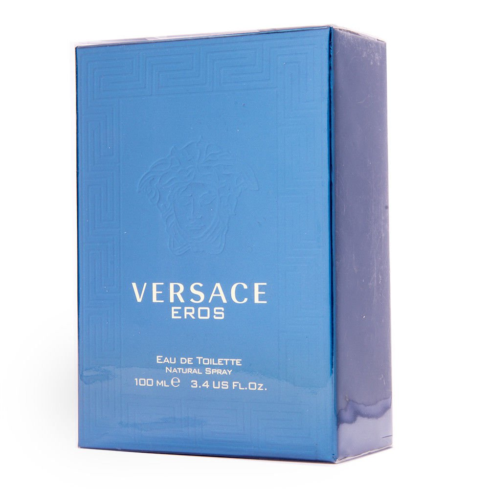 Versace EROS 100ml 3.4oz Eau de Toilette For Men New In Box & 100% Original
