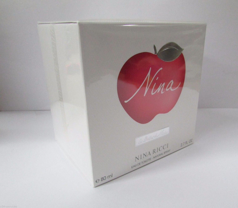 Nina Ricci NINA 2.7oz 80ml Women Eau de Toilette EDT NEW IN BOX 100% Original