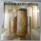 Paco Rabanne 1 Million EDT 100ml+ Travel Spray 10ml + Shower Gel 75ml NEW SET